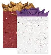 opal and cabernet large salon gift bags