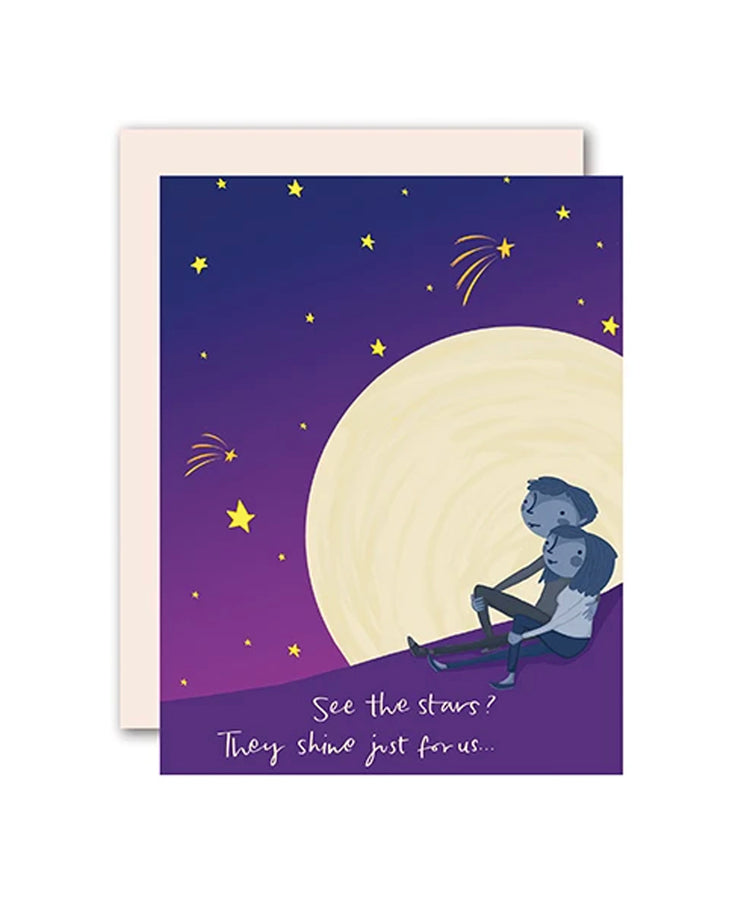 see the stars shine for you card