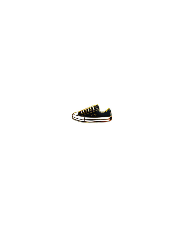 shoe enamel pin