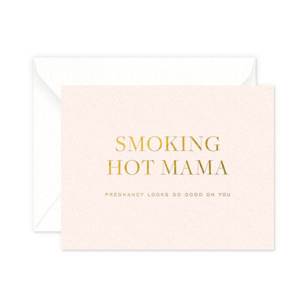 smokin hot mama card