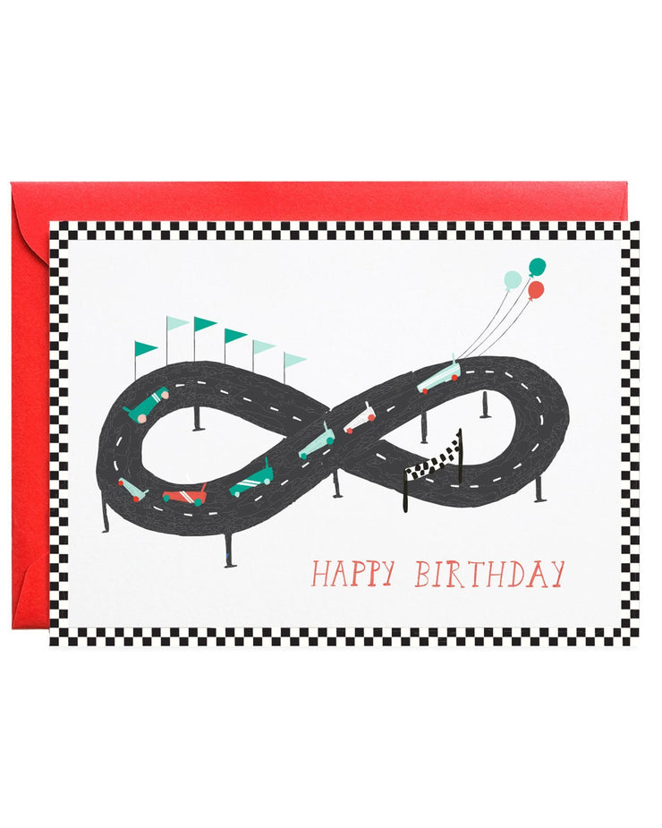 start your engines birthday card