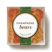 holiday champagne gummy candy bears