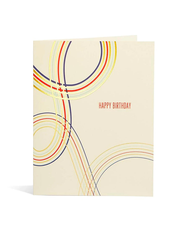 birthday swoop card