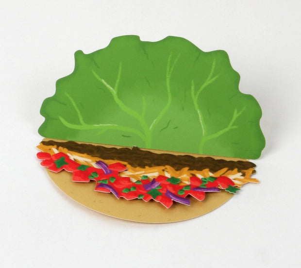 let's taco 'bout it pop-up greeting card