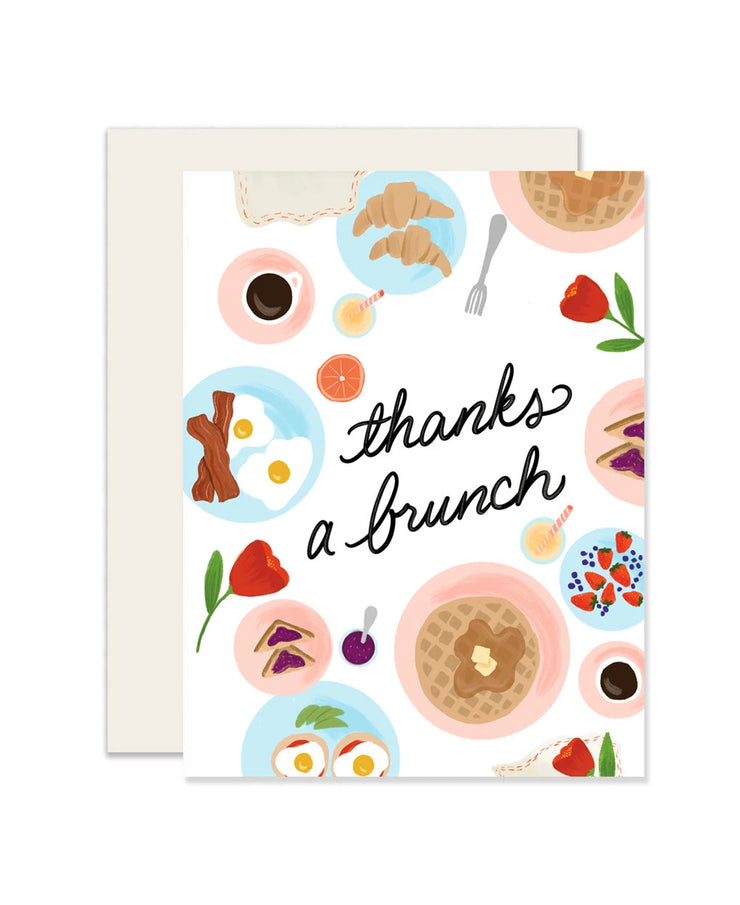 thanks a brunch card