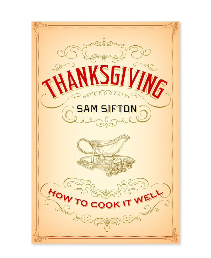 thanksgiving: how to cook it well book