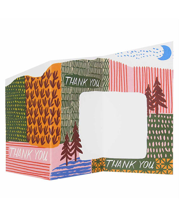 thank you landscape card
