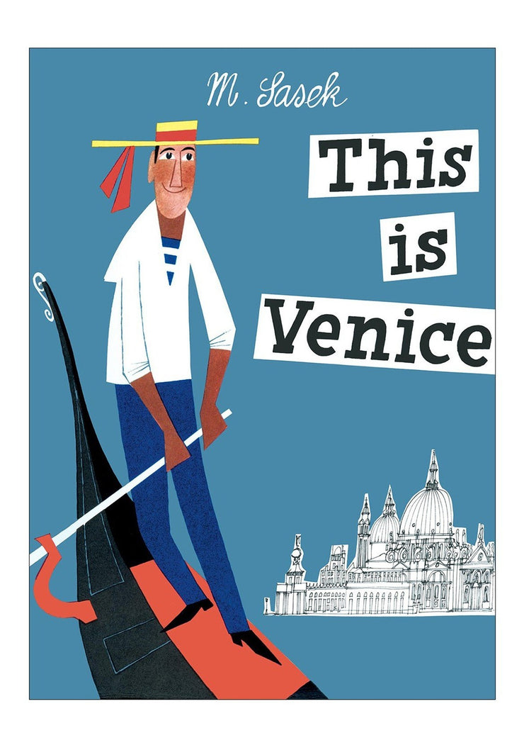 this is venice book by M. Sasek