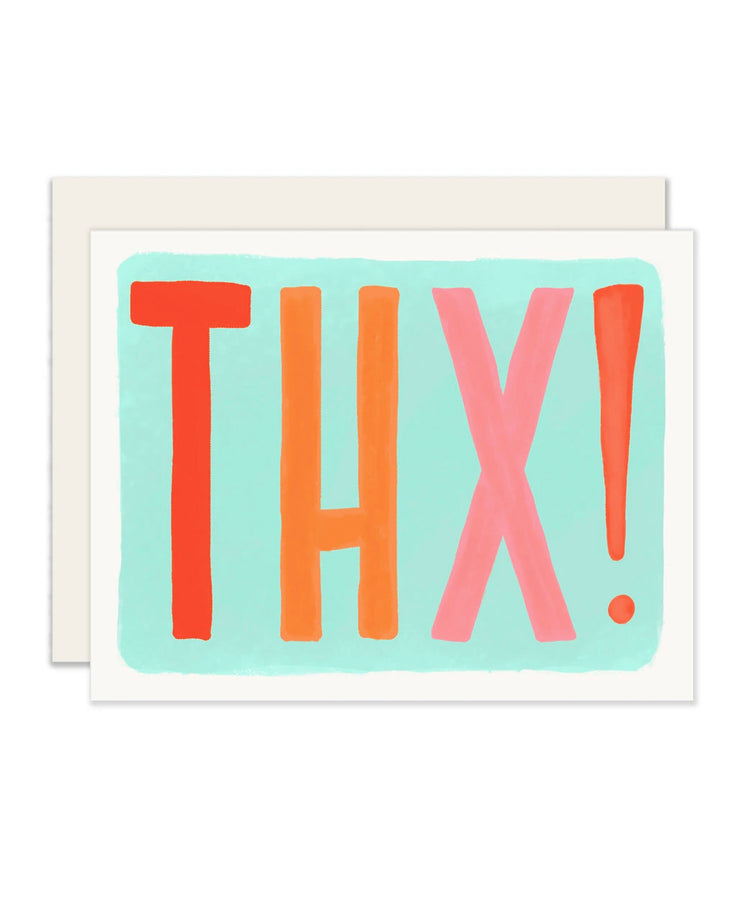 thx! card - single or set of 6