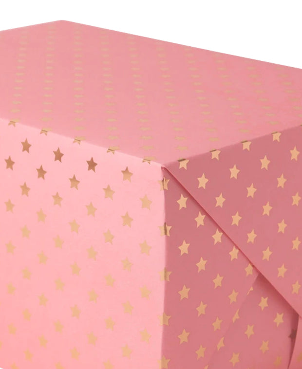 tiffany's stars gold foil wrapping sheet