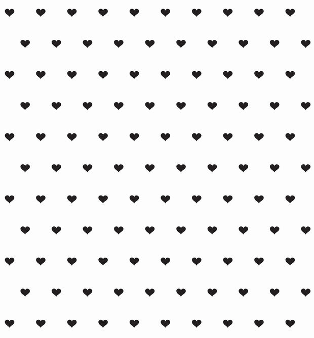 tiny hearts 5' gift wrap