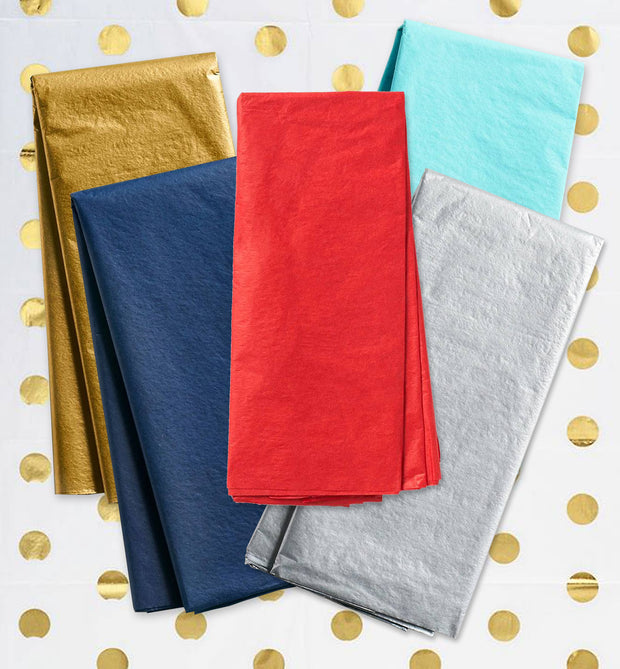 tissue paper - assorted colors
