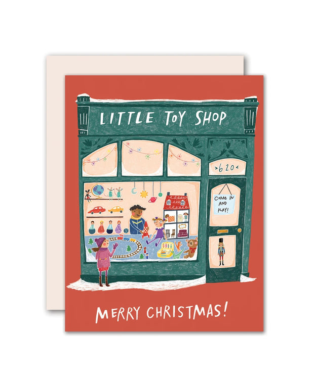 little toy shop card