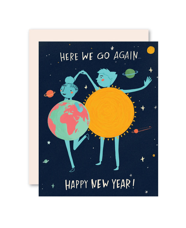 another trip around the sun new year card