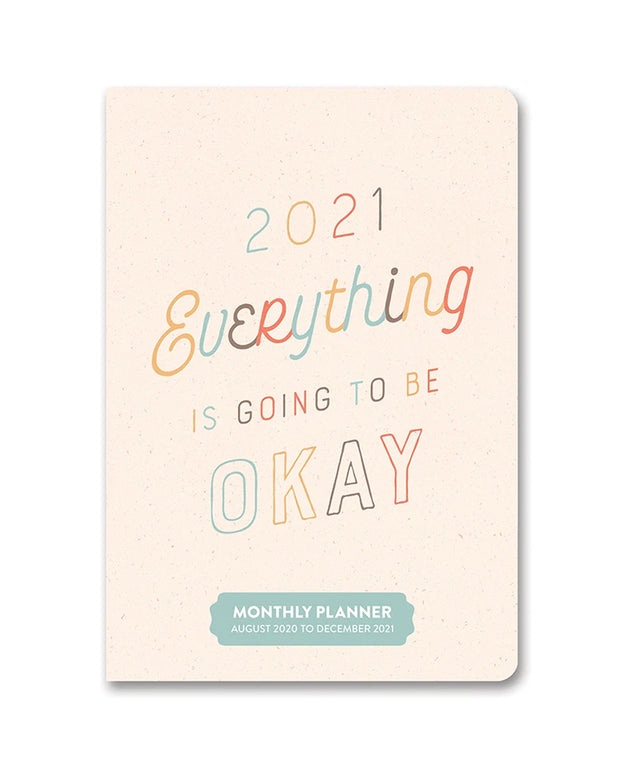 2021 everything is going to be okay monthly pocket planner