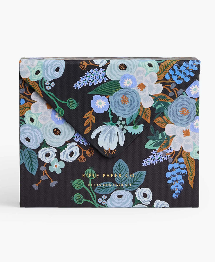 mixed florals essentials card box
