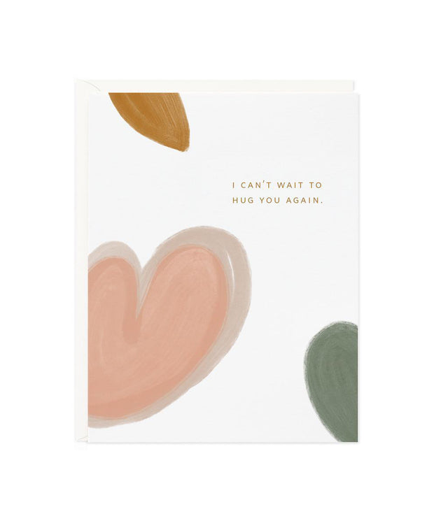 can't wait to hug you card