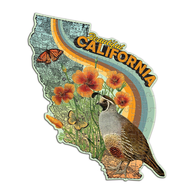 wendy gold california mini shaped puzzle