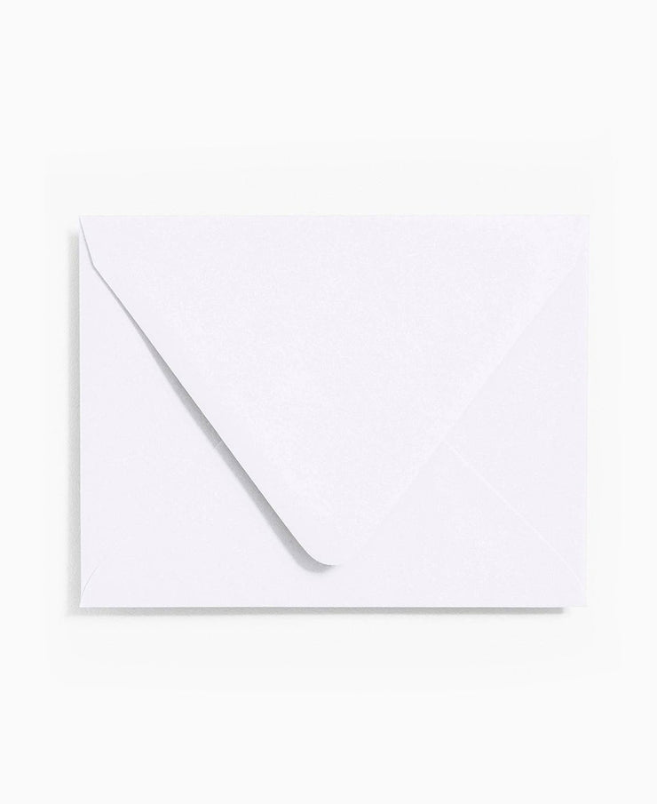 white a2 envelopes - set of 10