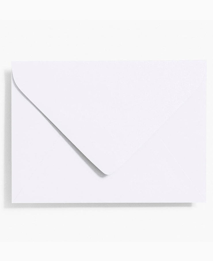 white a7 envelopes- set of 10
