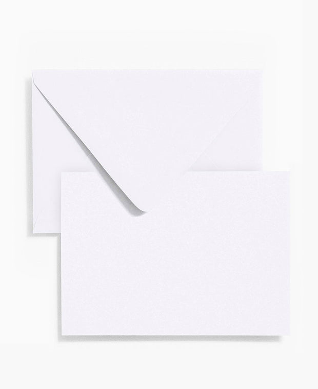 simple white stationery - various sizes