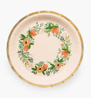 wildflower plates - large and small sizes