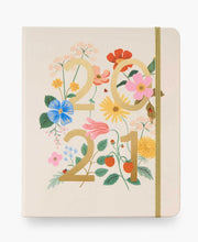 wild garden 2021 covered 17-month planner