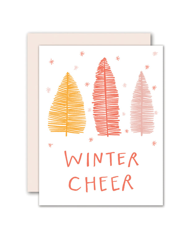 winter cheer - single card or set of 8