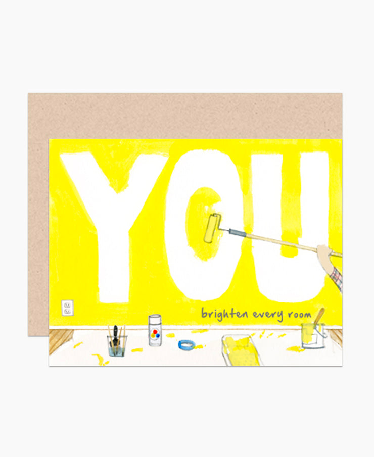 you brighten every room card
