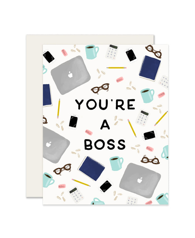 you're a boss card