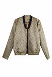Bomber gold pattern - Dekora.Fashion