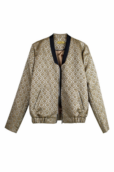 Bomber gold pattern