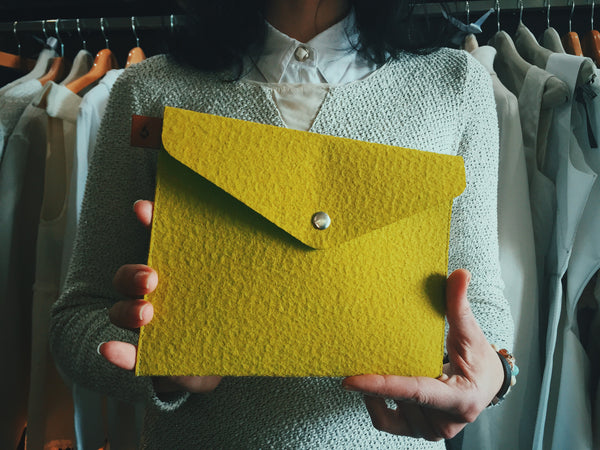 Envelope Mustard - Dekora.Fashion