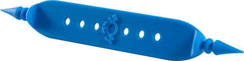 "Cable Tie, Blue 3/4"" Wide, 7"" Long"