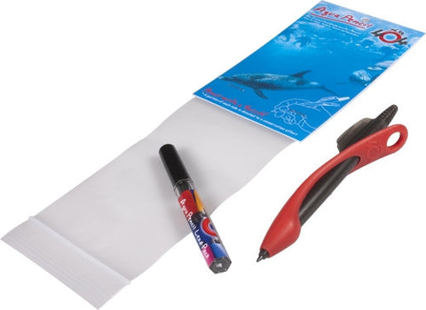 Red Aqua Pencil Solo Pack