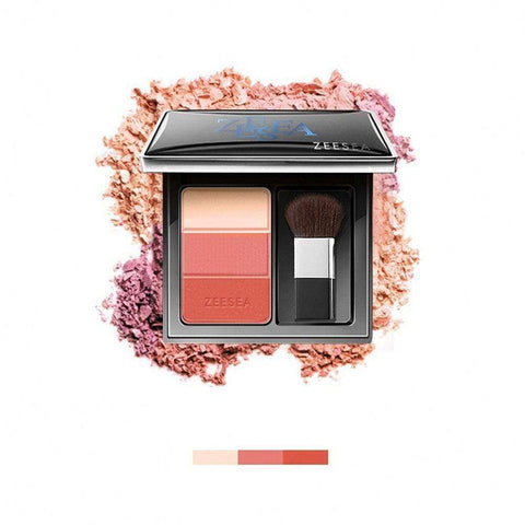 3-colour Pressed Powder Blush-ZEESEA-THE ART OF COLOUR