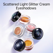Scattered Light Glitter Cream-Powder Eyeshadows