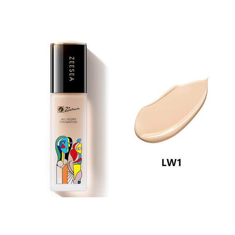 ZEESEA X Picasso Long Wear Cover Flawless Foundation