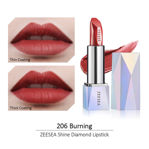 Shine Diamond Light Mist Matte Lipstick