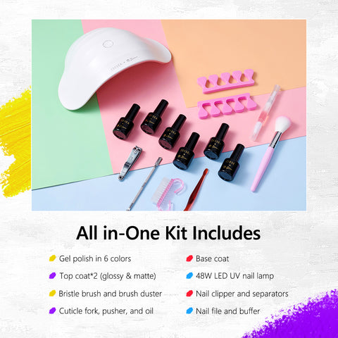 ZEESEA & Picasso Nail Polish Kit