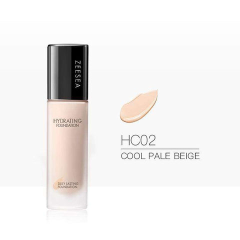 Silky Lasting Liquid Foundation-Hydra & Blemish Concealing-ZEESEA-THE ART OF COLOUR