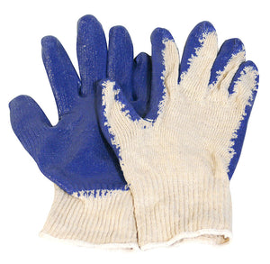 PVC COATED GLOVES - 12 PACK