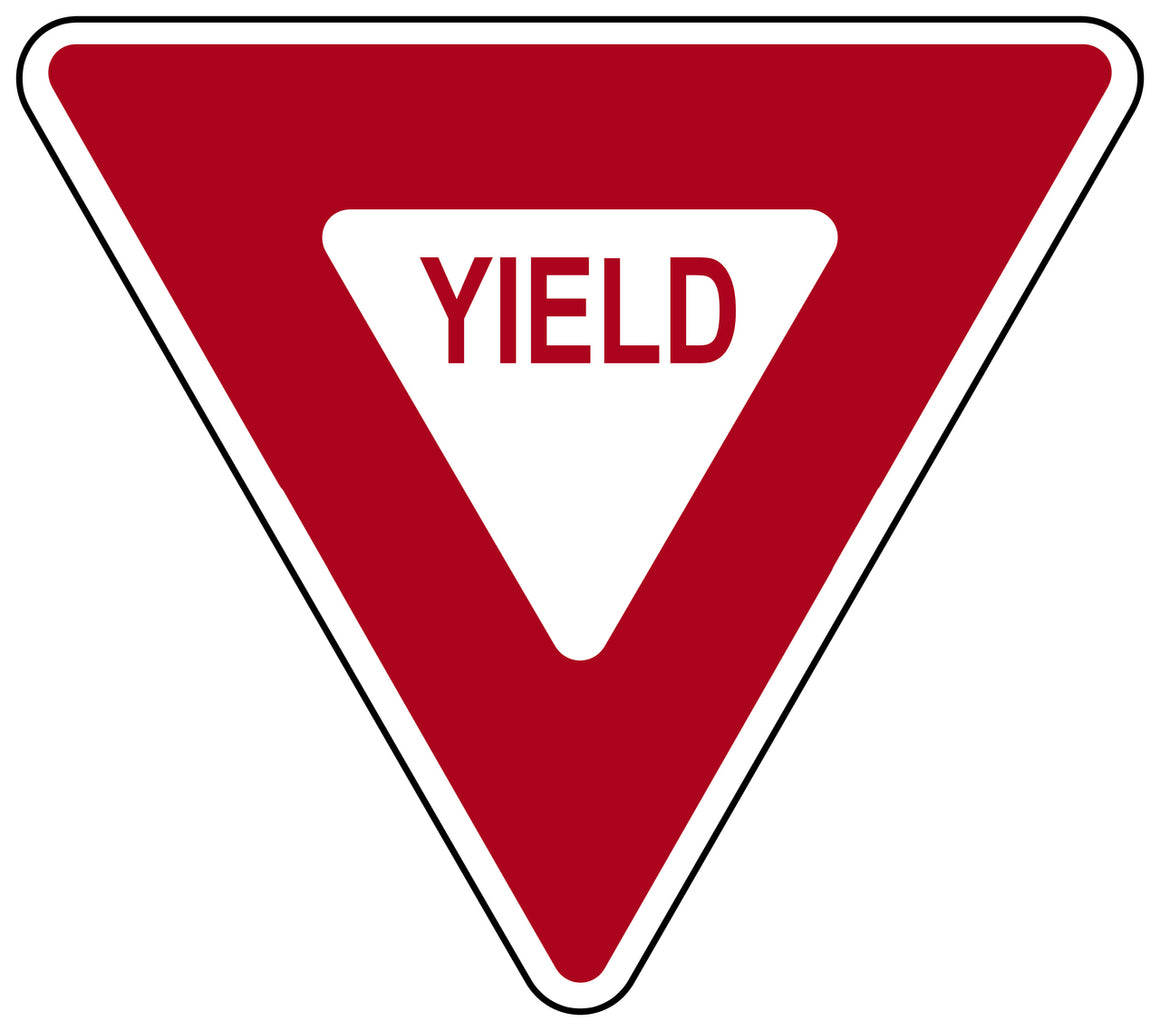 """YIELD"" Sign - High Intensity"