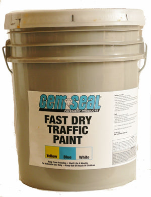 LATEX STRIPING PAINT - FAST DRY 5 GAL.