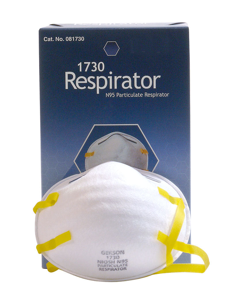 PARTICLE RESPIRATOR - Box of 20