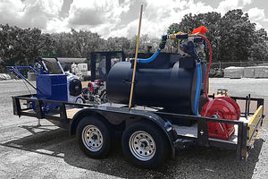 300 Gal Sealcoat Spray System Equipment Combo Trailer