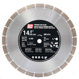 "14"" All Purpose Segmented Diamond Blade GR1414"