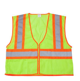 ANSI Class II Economy Safety Vest W/ Zipper