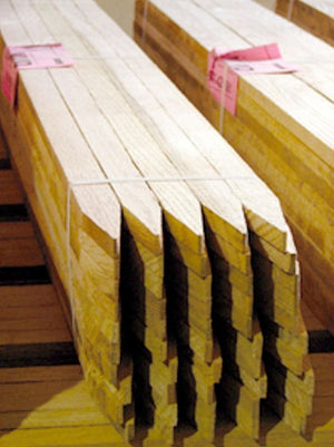 Sharpened Oak Lath Pallet