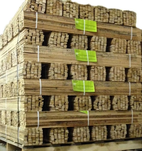 4 Sharpened Oak Lath - Pallet Free Shipping